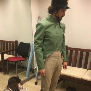 Produzione del costume per Max.